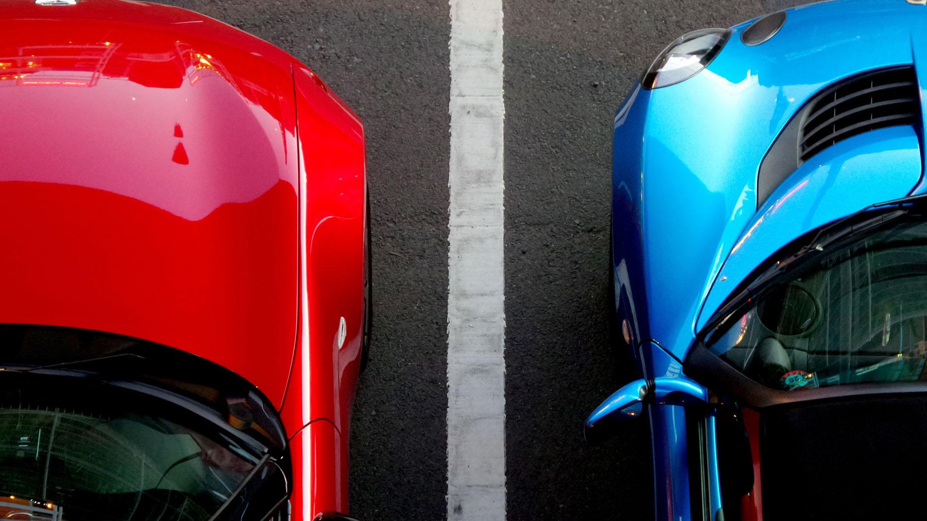Car Hire Red Car Blue Car Parking Lot Book Online