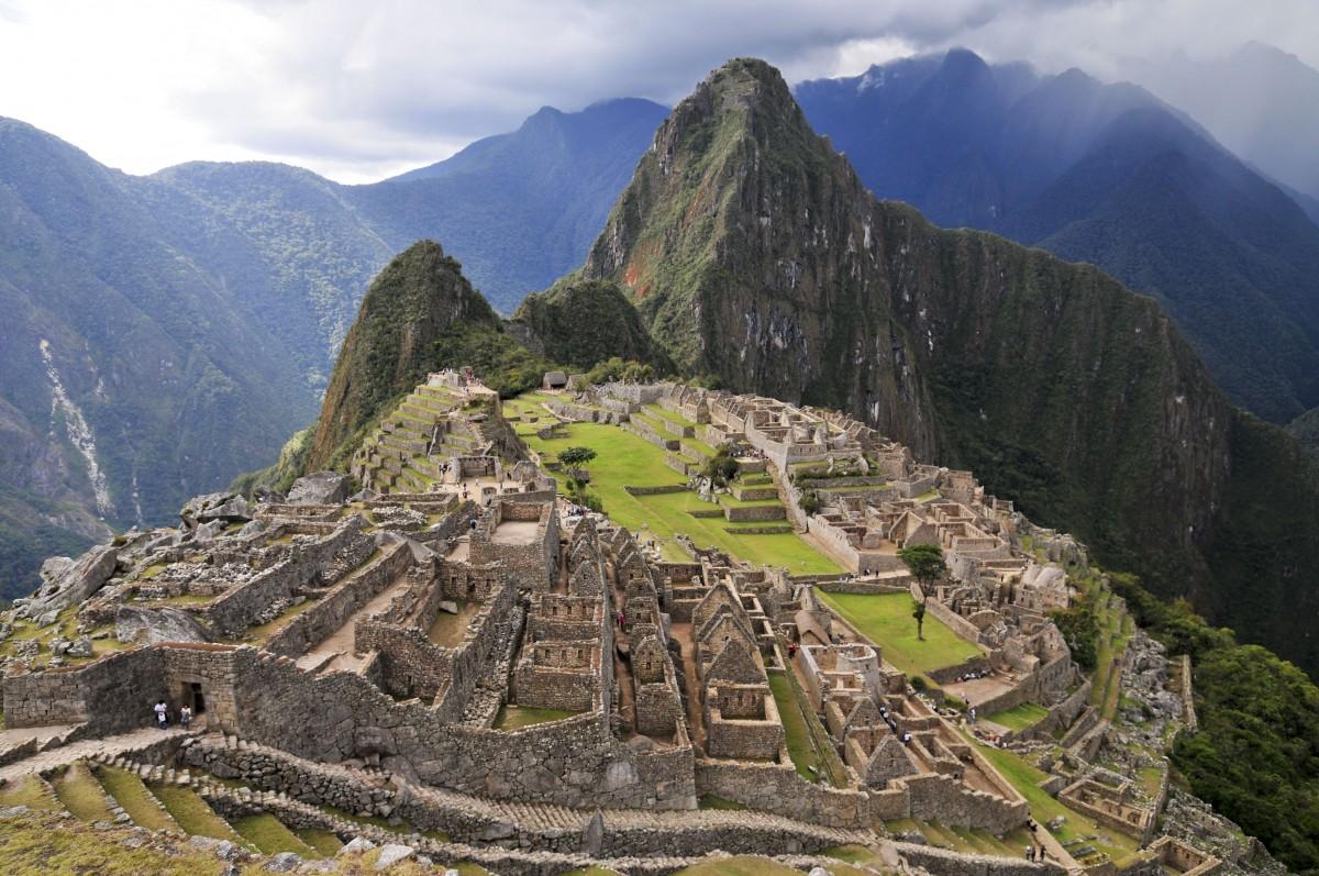 Machu Picchu Peru Inca Mountain