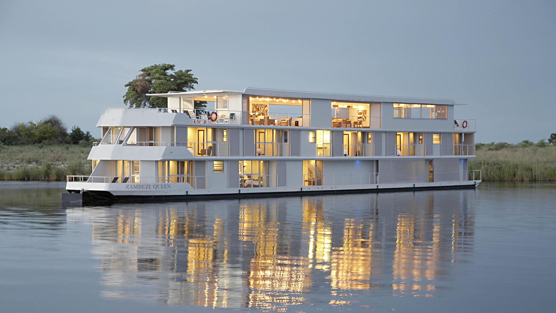 Zambezi Queen River Cruise Botswana Luxury Safari Boat