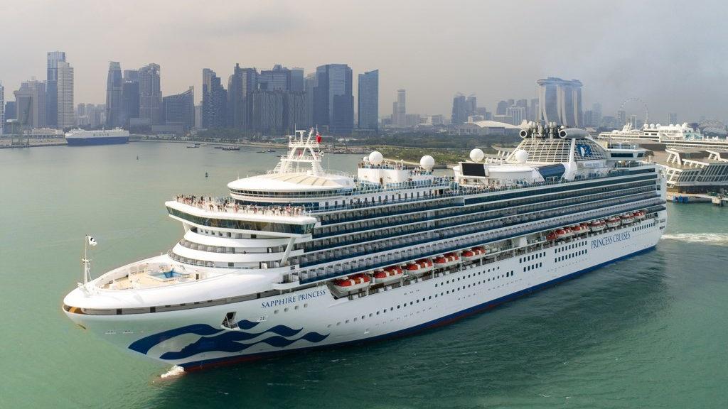 Sapphire Princess Singapore Skyline Asia Cruise